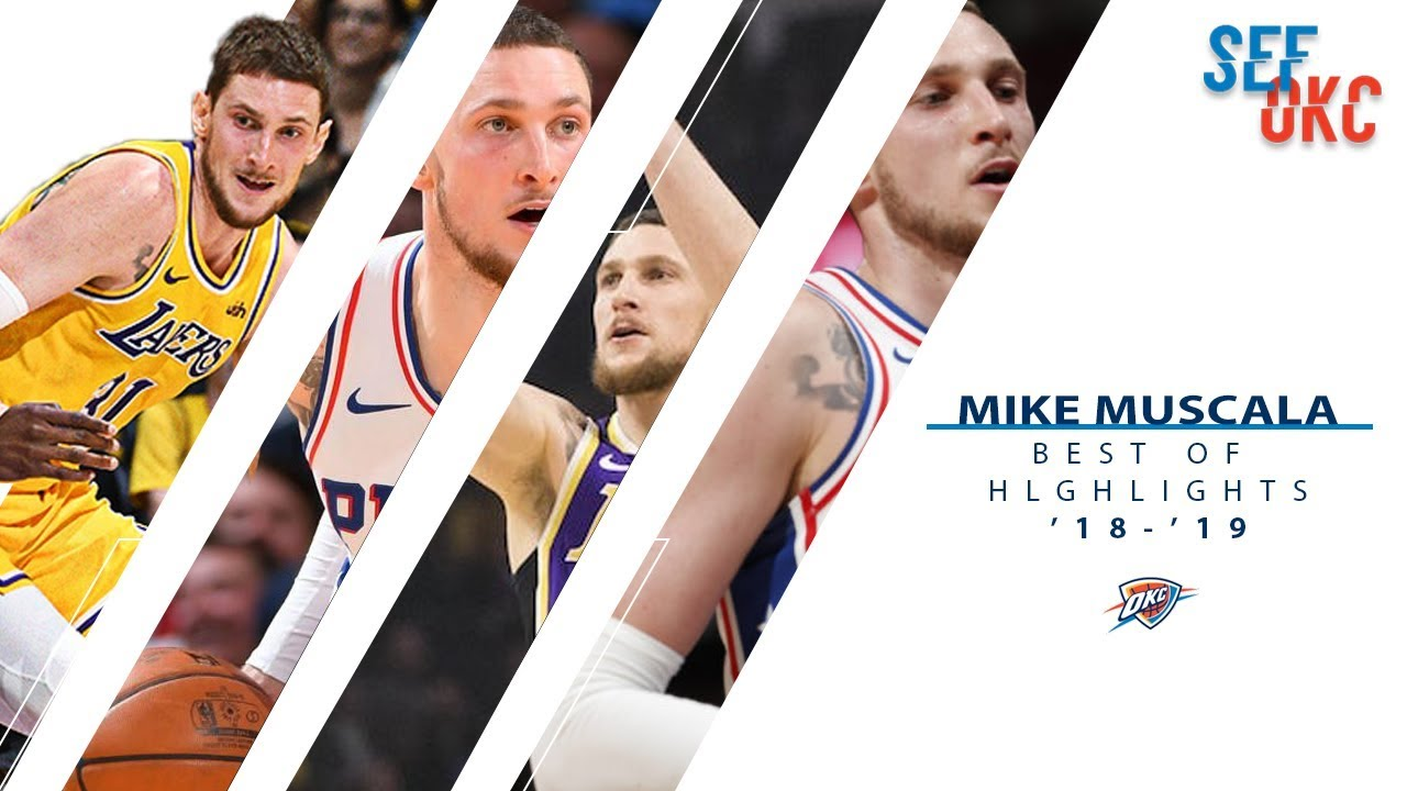 pretty nice b9f59 99008 Best of Mike Muscala: Highlights with Sixers & Lakers | 2018-19 NBA Season