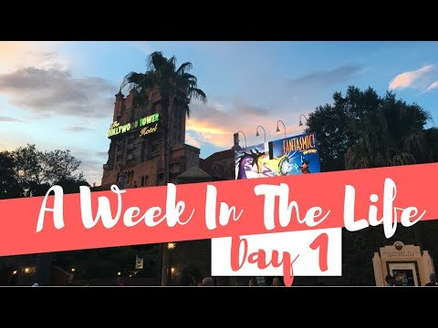 EARNING MY EARS + HOLLYWOOD STUDIOS // Week In The Life Of The DCP (Day 1)