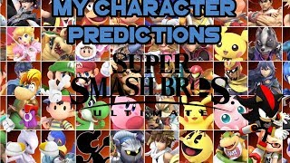 Super Smash Bros Ultimate - My Top 10 Predictions For Newcomers