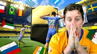 Omg double walkouts! 10x guaranteed 84+ informs! world flag pack opening! fifa 17 ultimate team