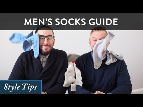 How to Wear Men's Socks - 5 Sock Style Tips