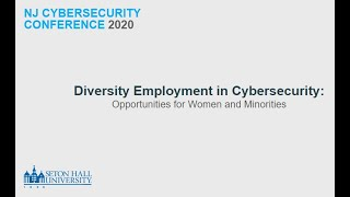 Diversity Employment in Cybersecurity Opportunities for Women and Minorities