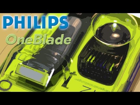 ( GER ) Philips One Blade - Unboxing / Review / Test