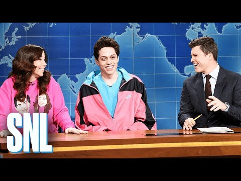 Carson - SNL: Pete Davidson on Living with His Mom