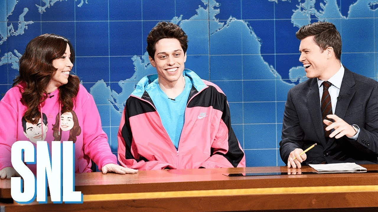 Weekend Update: Pete Davidson on Living with His Mom - SNL image