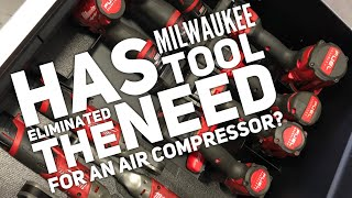 Has Milwaukee Tool Eliminated The Need For An Air Compressor?