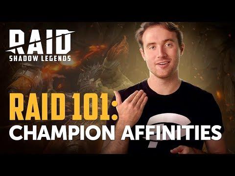 RAID: Shadow Legends | RAID 101 | Champion Affinities