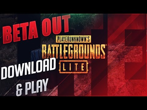 PUBG PC LITE BETA IS OUT ! HOW TO DOWNLOAD & PLAY FREE ! PUBG FOR POTATO PC - 동영상