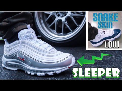 SNAKE SKIN JORDAN 11 LOW Review & On Foot PLUS UNBOXING A SLEPT ON NIKE!!