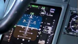 Boeing 737 ILS CAT IIIa Autoland - PFD View