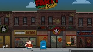 Farty Rush Gameplay Video - Run and Jump Game