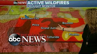 Droughts and strong, dry winds fuel devastating Colorado wildfires