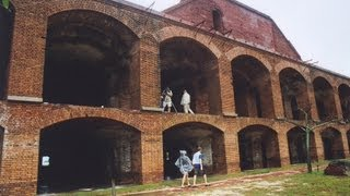 Tour Fort Jefferson - Dry Tortugas National Park - West of Key West, Florida