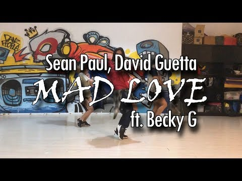 MAD LOVE | Sean Paul, David Guetta ft. Becky G @msandreaschua choreography