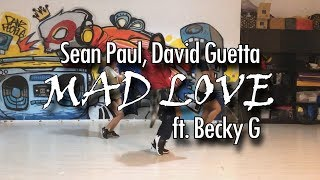 MAD LOVE | Sean Paul, David Guetta ft. Becky G @msandreaschua choreography Video