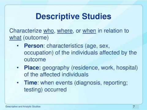 4. Descriptive and Analytical Studies | CPP NCD Epidemiology