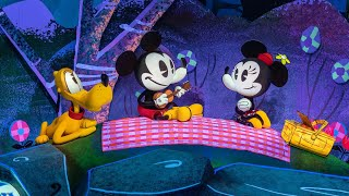 [4K POV] Mickey and Minnie's Runaway Railway FULL Trackless Dark Ride