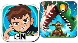 Ben 10: Up to Speed and Hungry Dragon [iOS Gameplay, Walkthrough]