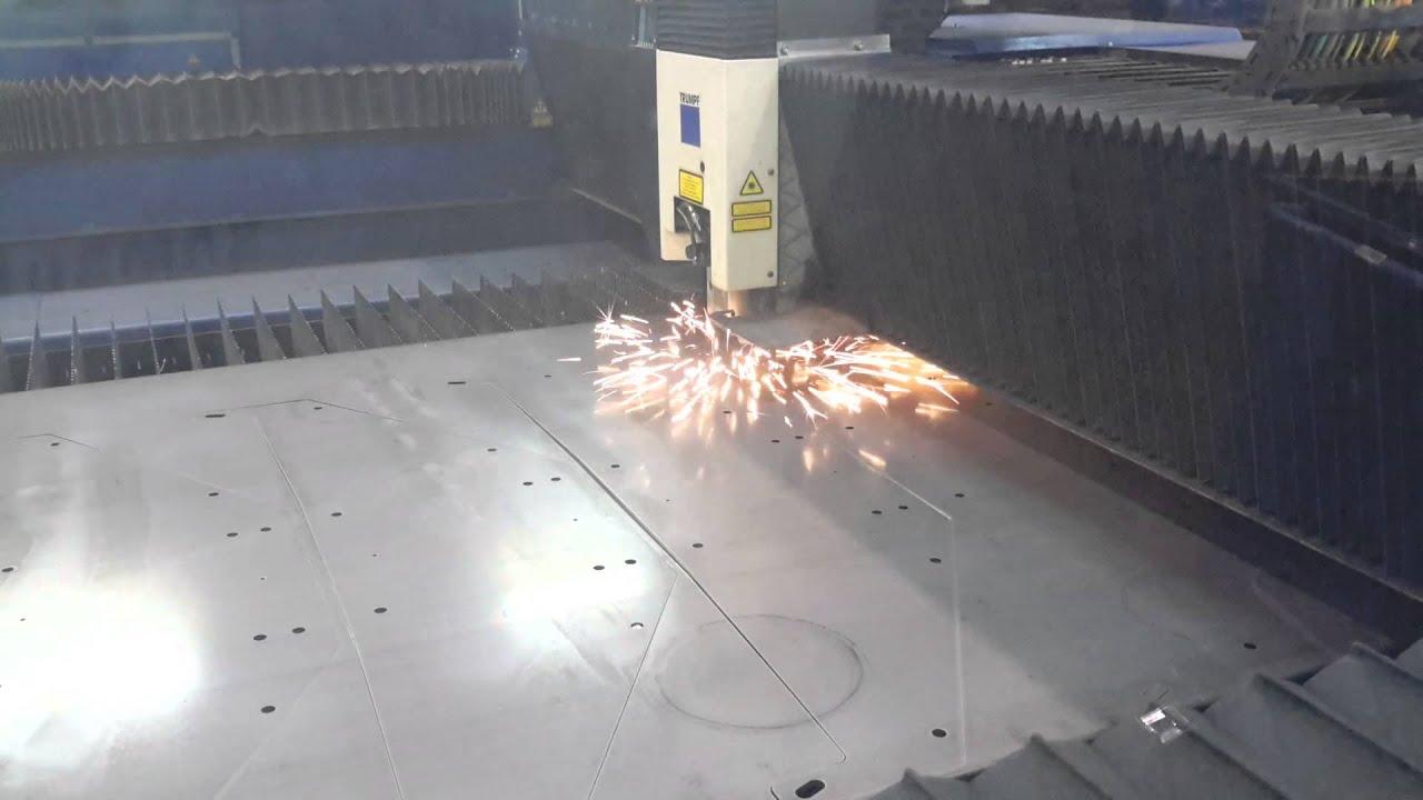 Garde Corps Decoupe Laser découpe laser tôlerie fine alu et inox chez pothier productions