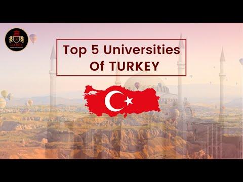 Top 5 Universities in Turkey for International Students