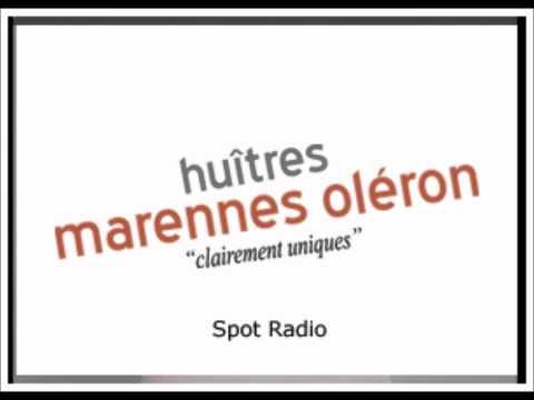 Spot radio des Huîtres Marennes Oléron par Montgomery Ouest
