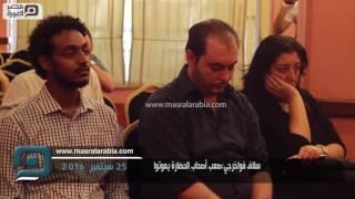 مصر العربية | سلاف فواخرجي:صعب أصحاب الحضارة يموتوا