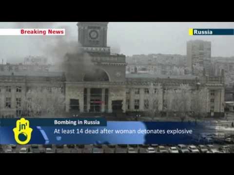 Volgograd railway station suicide bombing: suspected Islamist attack kills at least 14 in Russia