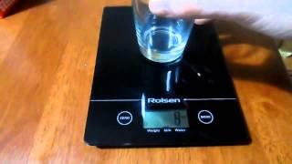 Обзор на кухонные весы ROLSEN KS-2907