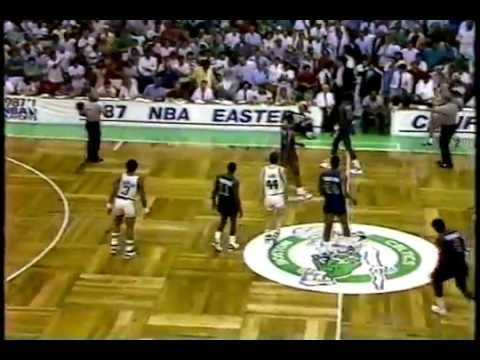 Boston Celtics, Detroit Pistons - NBA Playoffs - 5.30.87 - Johnny Most Call - YouTube