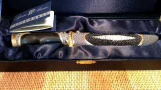 Нож - как семейная реликвия или подарок.  Нож авторской работы центра  Русские Ремесла