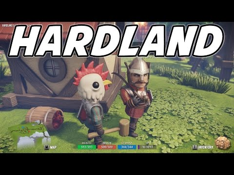 Hardland Gameplay Test Drive (Open-world Adventure RPG / 1080p60)
