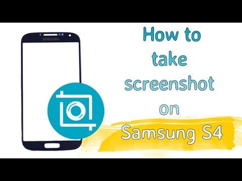 screenshot on s4 phone