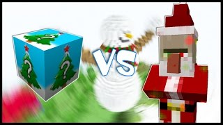 Новогодний Лаки Блок VS Безумный Дед Мороз! - Лаки Битва #10