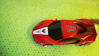Bump and Go Car Rivals Flash and Deformation Red