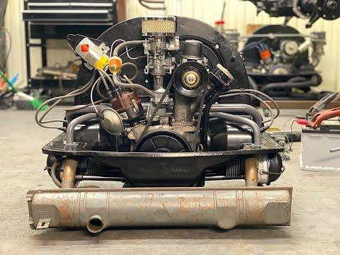 VW ENGINE Build Part (3) Will it Run ? First Start ? Restoration 40HP air-cooled Volkswagen engine -