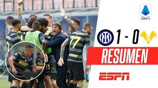ASISTENCIA DE ALEXIS SÁNCHEZ PARA AL TRIUNFO DEL NEROAZZURRO | Inter 1-0 Hellas Verona | RESUMEN