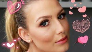 ♥ Romantic Valentines Day Make Up Tutorial ♥ - Jill Weisenstein -