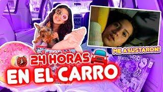 24 HORAS EN EL CARRO 🚗 Final ÉPICO | Leyla Star 💫