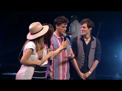 Kurt Hugo Schneider & Jayesslee @ YouTube FanFest Australia 2015