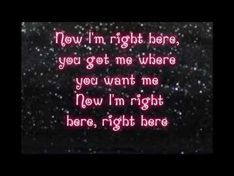 Right Here- Jess Glynne (LYRICS)