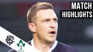Barbarians 22-21 Ireland | Full match Highlights & tries