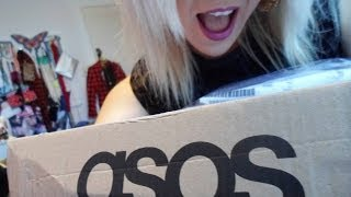 Asos Unboxing! Metallic Tshirt, Mesh Midi Skirt and Disco Pants!