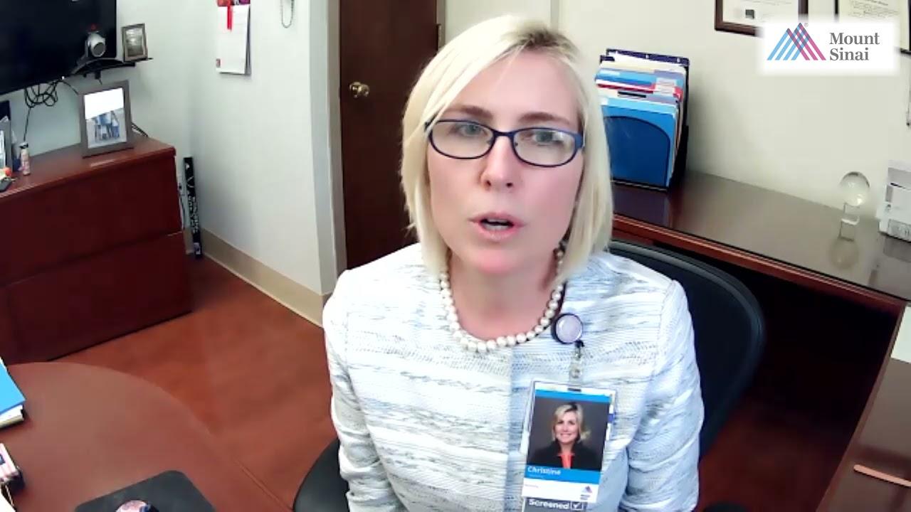 Nurses Week 2021 - Christine Mahoney, MS, RN, AGACNP-BC, NEA-BC, CCRN