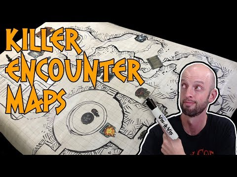 5 Tips for Drawing Awesome Encounter Maps