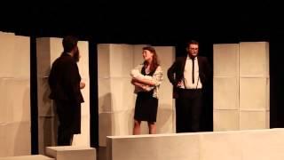 Historia de una escalera. Hypokrita Teatro. Muestra de Teatro Universitario USAL