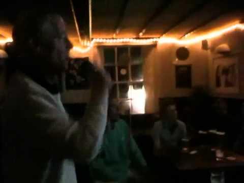 Sleepy Nigel on karaoke in the Oddies