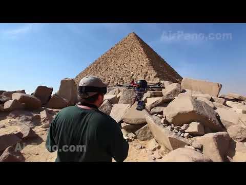 The Giza Necropolis - Aerial Video
