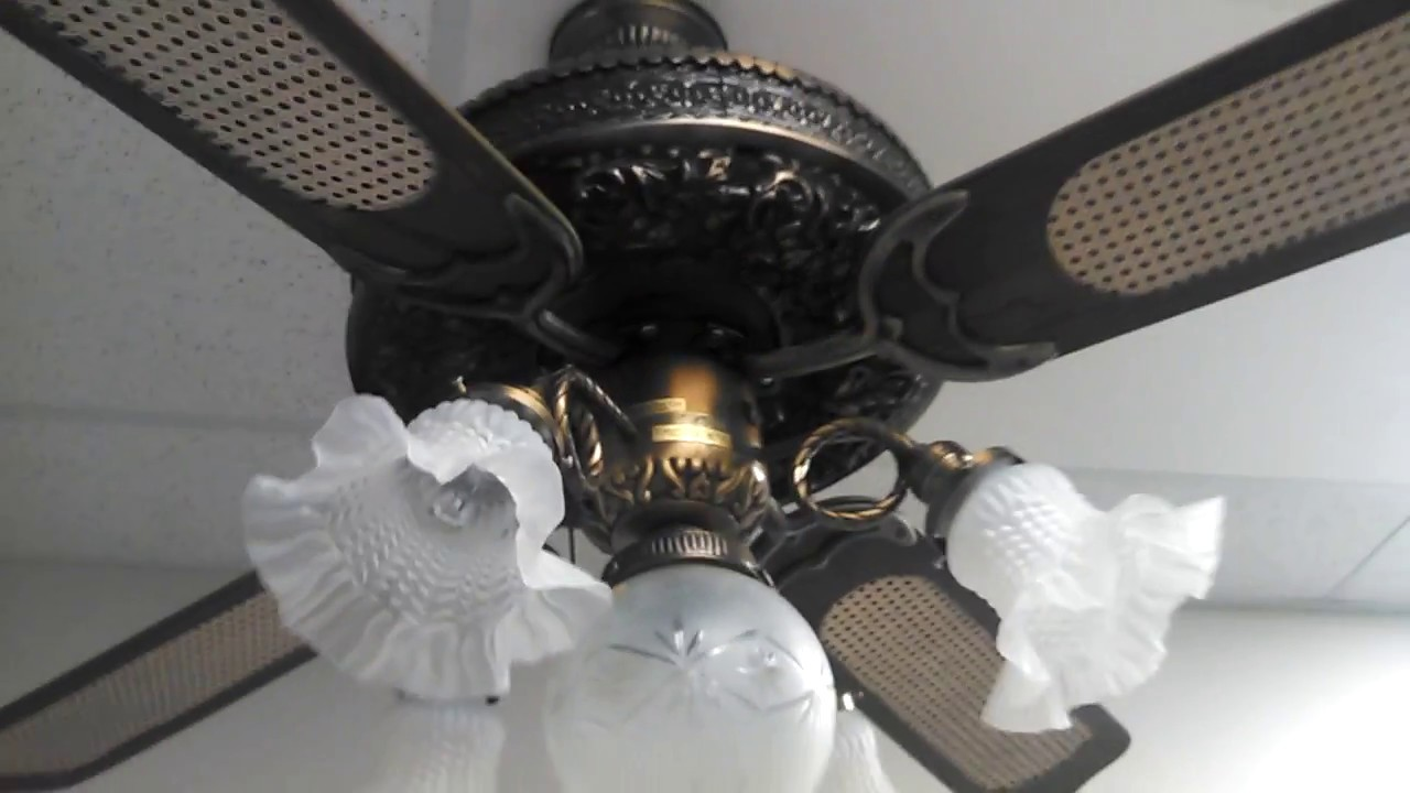 Casablanca Columbia Ii Ceiling Fan C 1980 Youtube