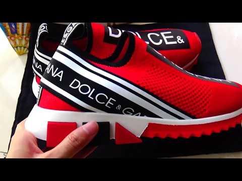 Dolce \u0026 Gabbana SNEAKER REVIEW! ARE