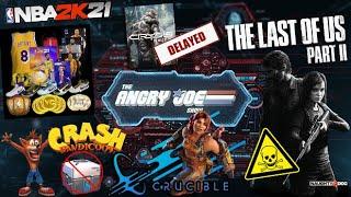 AJS News- NBA 2K21 at $69.99?, The Last of Us II Toxic Response, Crash Bandicoot Micros? & Crucible!